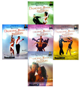 Dancing Basics with Passion Set ( 5 DVDs )