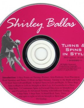 Turns & Spins in Style - Shirley Ballas