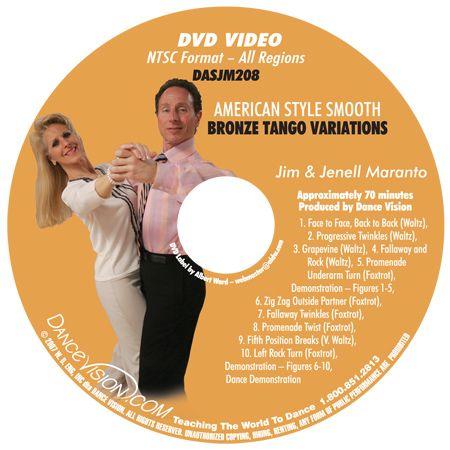 American Smooth Bronze Tango Variations on Foxtrot Steps Intermediate
