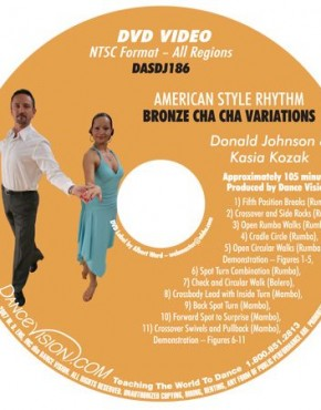 Cha Cha Bronze Variations - Johnson