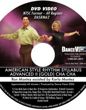Cha Cha Gold Syllabus - Ron & Karla Montez