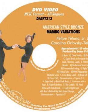 Mambo Bronze Variations - Felipe Telona, Jr. & Carolina Orlovsky-Telona