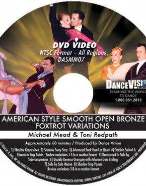 Open Foxtrot Bronze Variations - Michael Mead & Toni Redpath