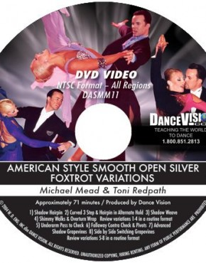 Open Foxtrot Silver Variations - Michael Mead & Toni Redpath