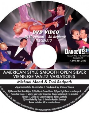 Open Viennese Waltz Silver Variations - Michael Mead & Toni Redpath