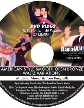 Open Waltz Bronze Variations - Michael Mead & Toni Redpath