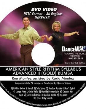 Rumba Gold Syllabus - Ron & Karla Montez