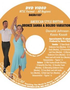 Samba & Bolero Bronze Variations - Johnson