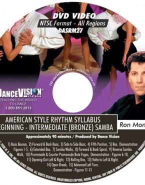 Samba Bronze Syllabus - Ron & Karla Montez