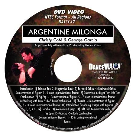 Milonga Volume I - Christy Cote & George Garcia
