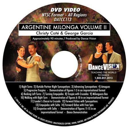 Milonga Volume II - Christy Cote & George Garcia