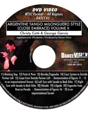 Milonguero Style II - Christy Cote & George Garcia