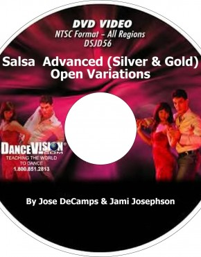 Salsa  Advanced (Silver and Gold) Open Variations - Jose DeCamps & Jami Josephson