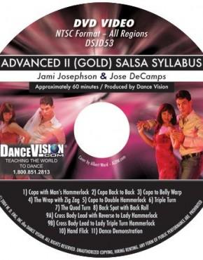 Salsa Gold Syllabus - Jose DeCamps & Jami Josephson