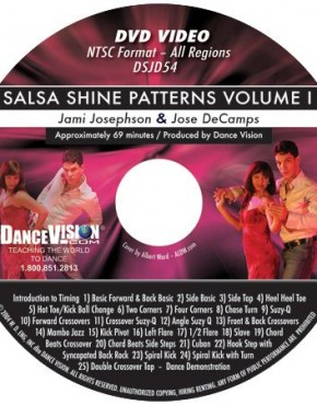 Salsa Shine Patterns Volume I - Jose DeCamps & Jami Josephson
