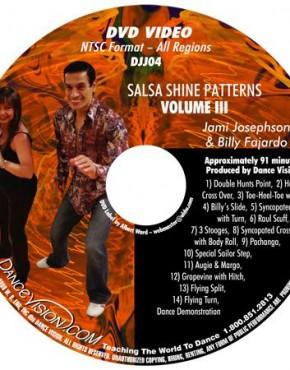Salsa Shine Patterns Volume III - Jami Josephson & Billy Fajardo