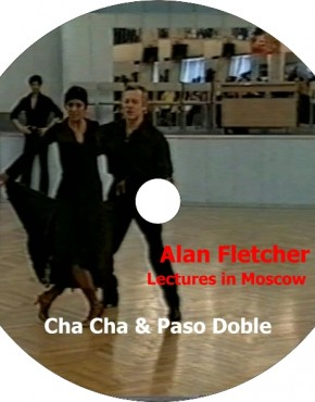 Alan Fletcher's Lecture in Moscow - Cha Cha & Paso doble