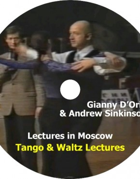 Gianny D'Oria & Andrew Sinkinson in Moscow Congress – Tango & Waltz Lectures